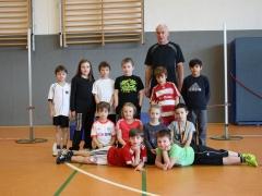 Leichtathletik-Kindergruppe